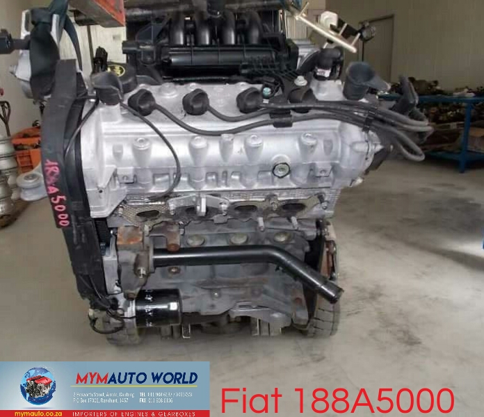 Imported used FIAT PALIO/PUNTO 1.2L 16V, 188A5000, Complete second hand used engines