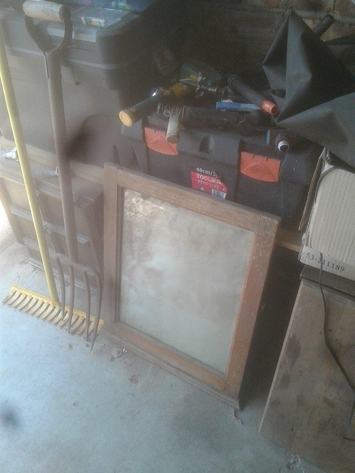 Dark wooden frame for sale