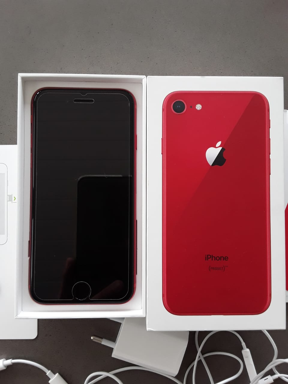 iPhone 8 64 GB Limited Edition Red for sale.