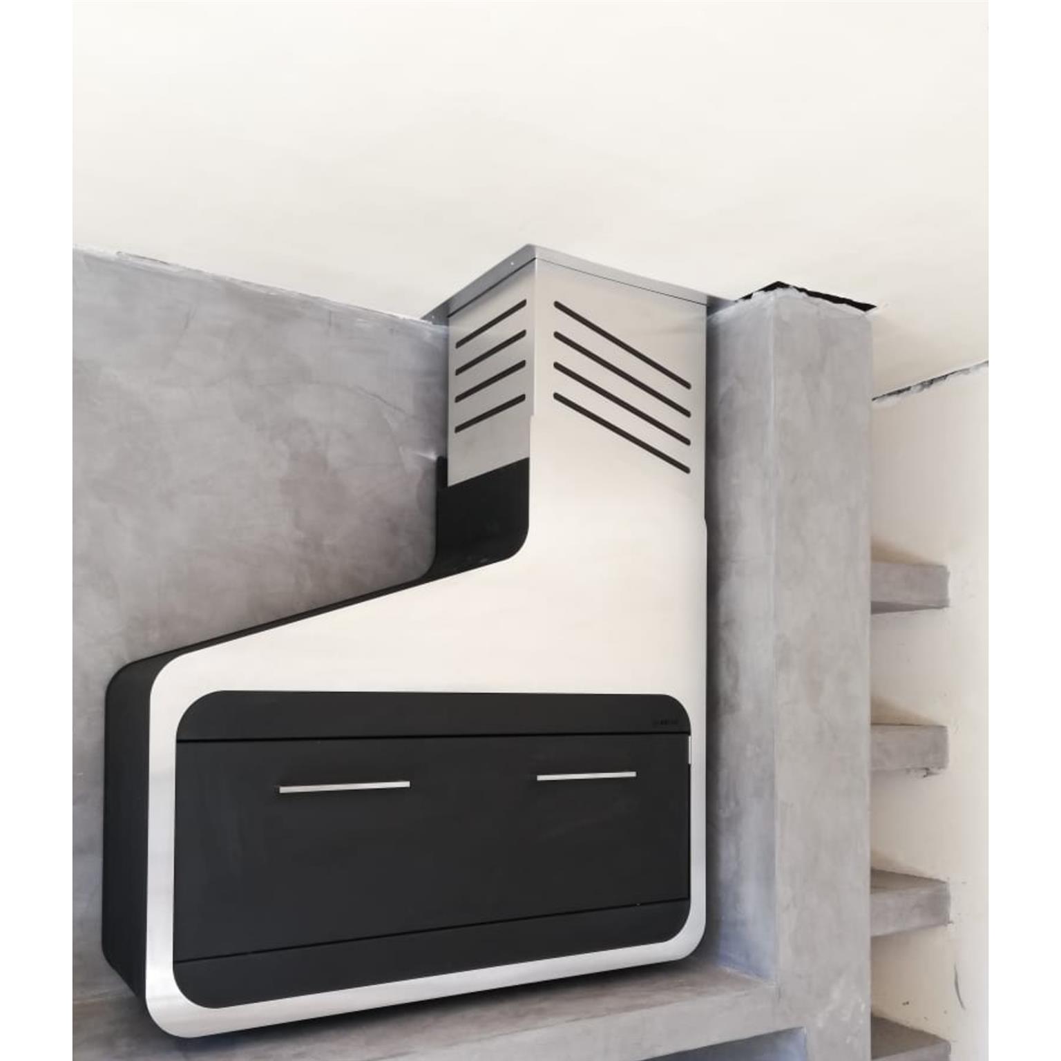 Stainless Steel Wall-Mount Braai