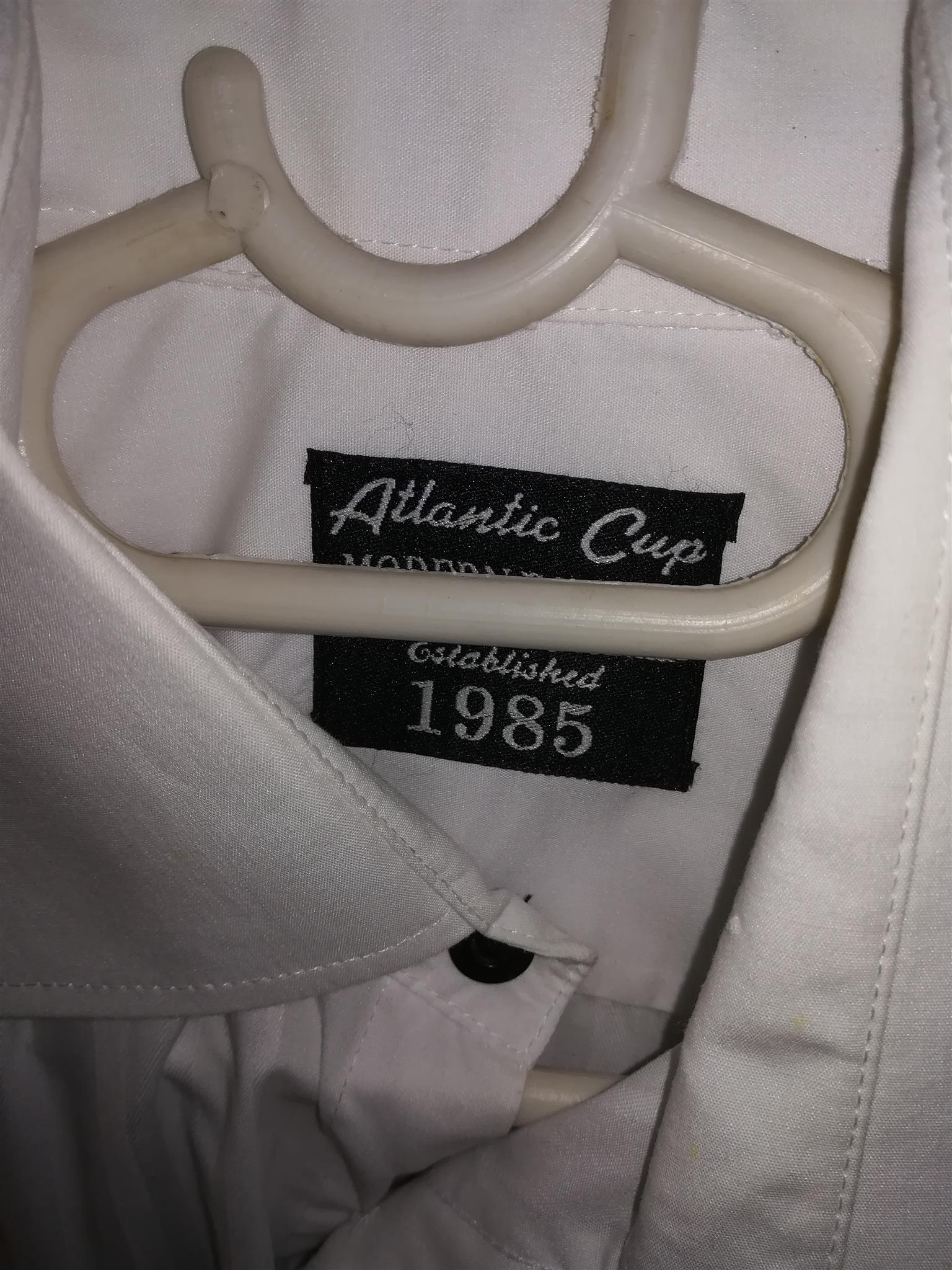 Modern Formal Dress Shirt - Boys age 13 - 14 PLUS 2 x long sleeve School Shirts- Boys age 13