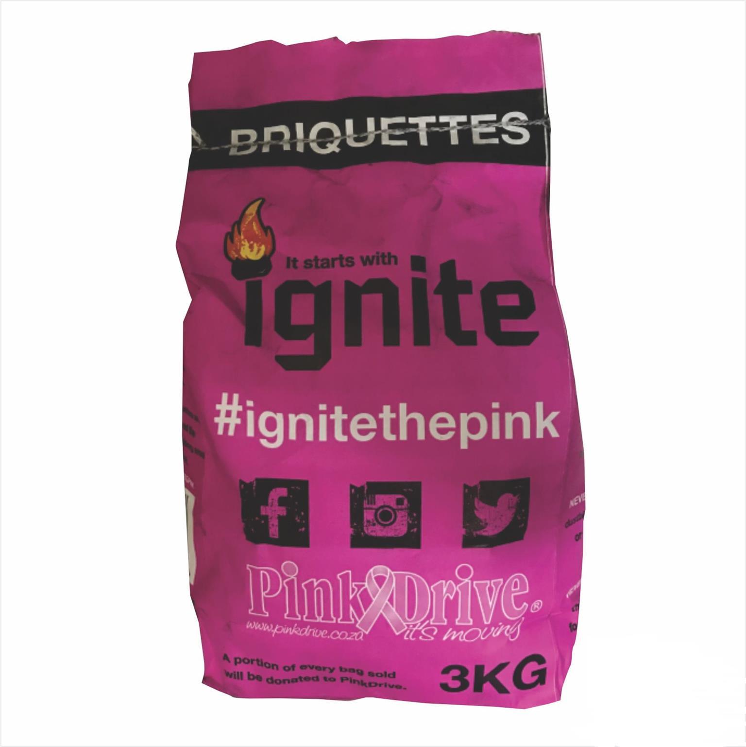Ignite Briquettes 3 kg
