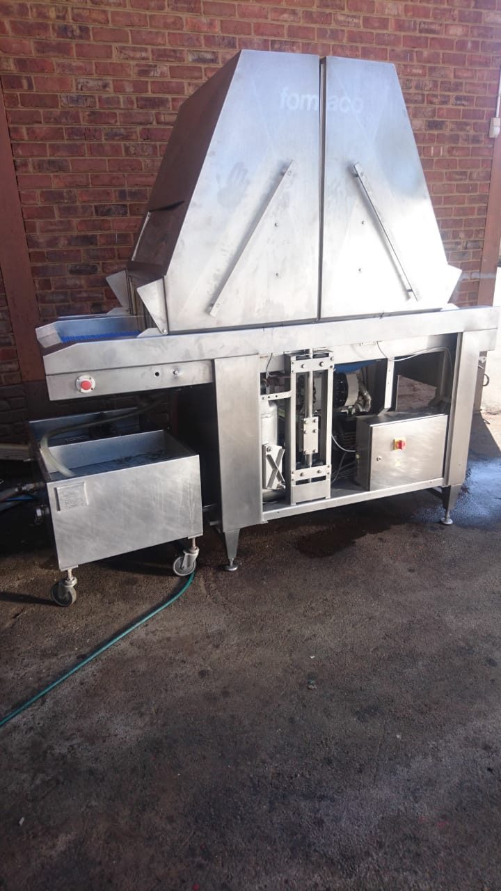 Fully Refurbished Fomaco Injector with pneumatic diaphragm pump