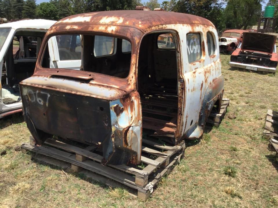 1948 Ford Ambulance Body | Junk Mail