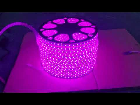 LED Strip Light / Rope Light 100metres Roll 220Volts PURPLE VIOLET Colour Brand New Products.