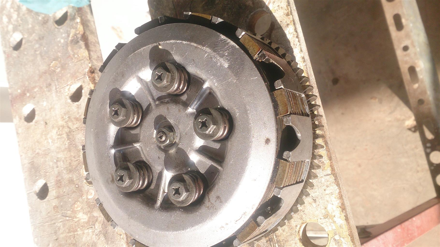 Xt600 complete clutch assy