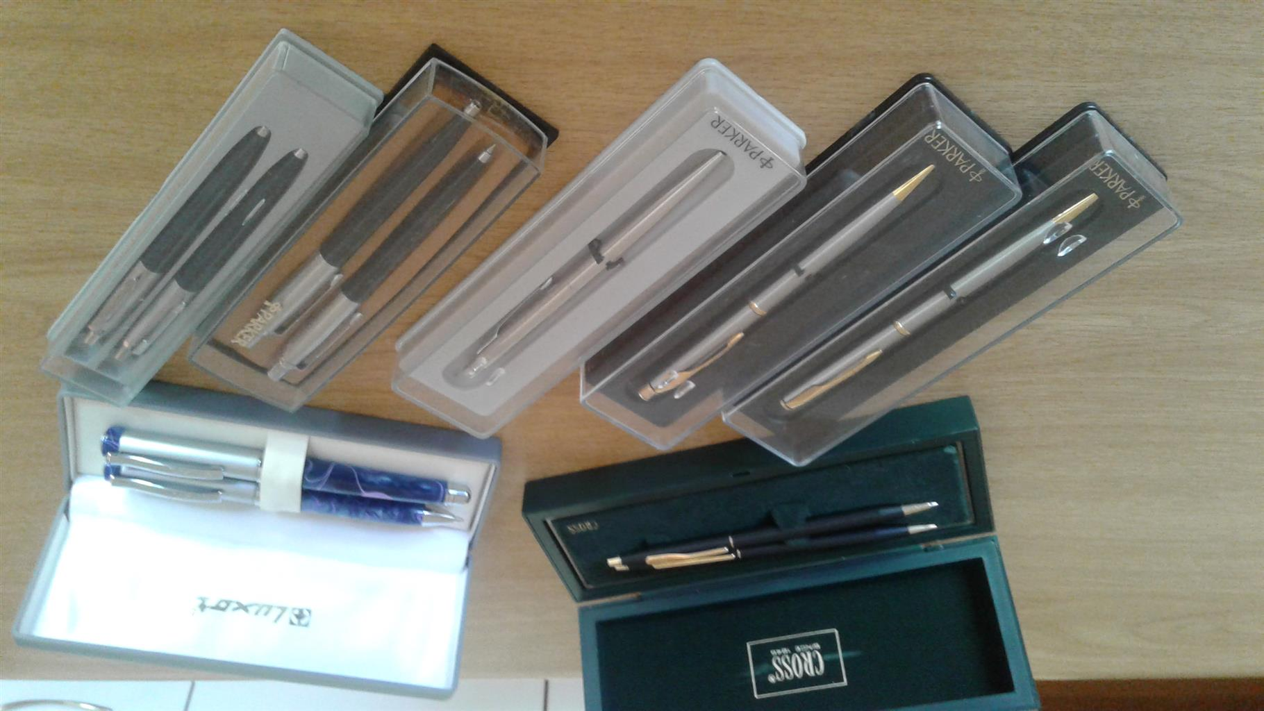 Parker pens and others