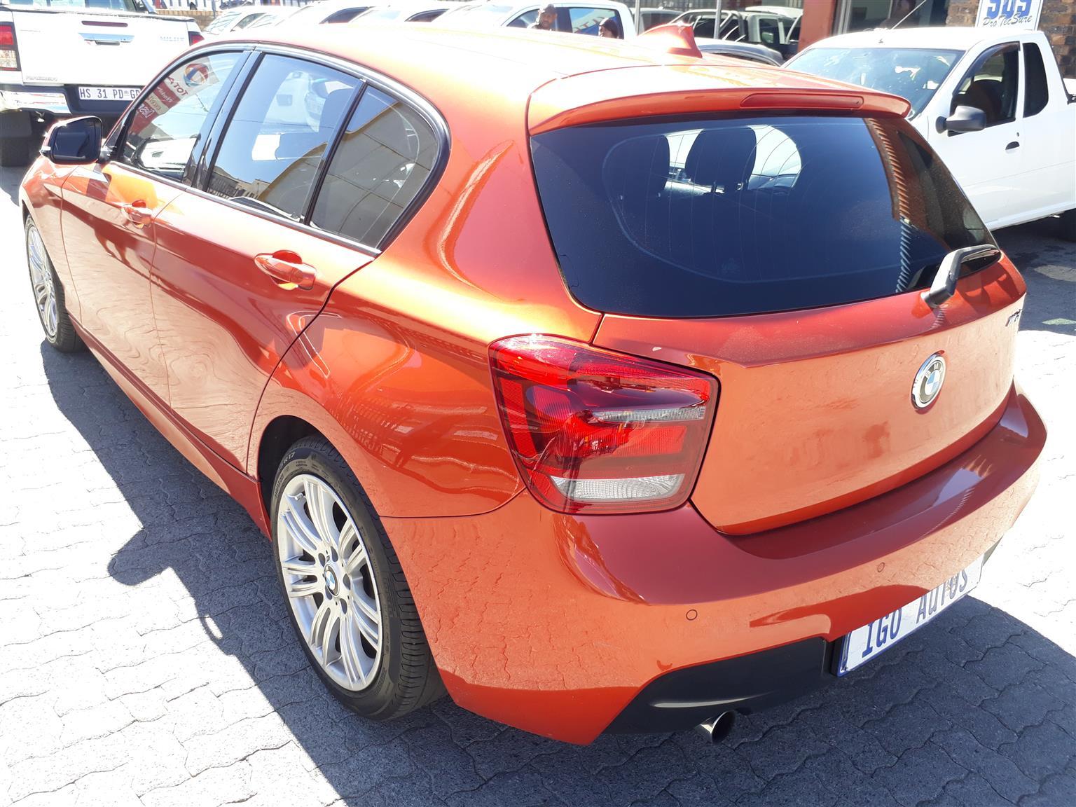2013 BMW 1 Series 116i 5 door M Sport auto
