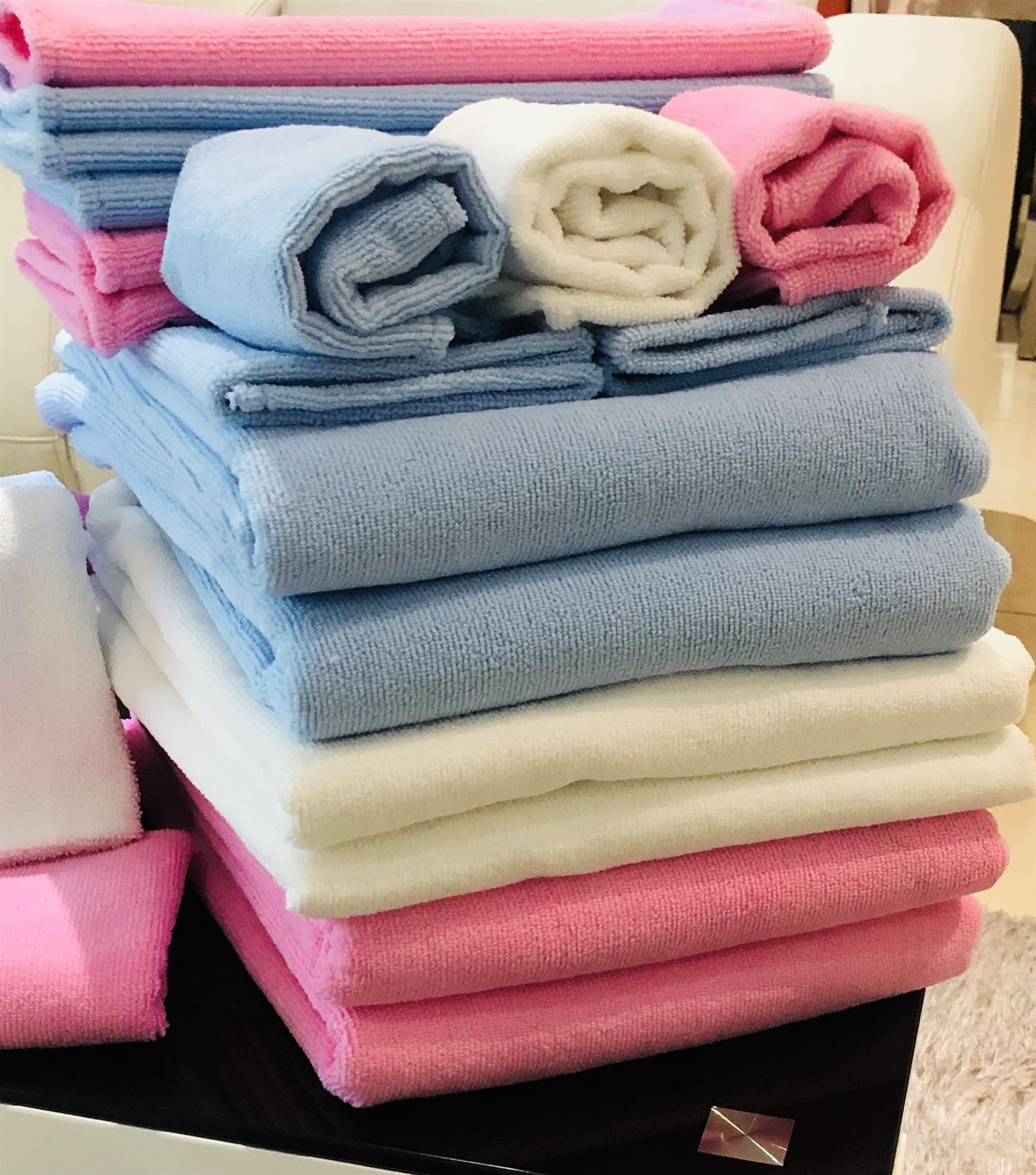 5 Pack Polyester Towel Sets
