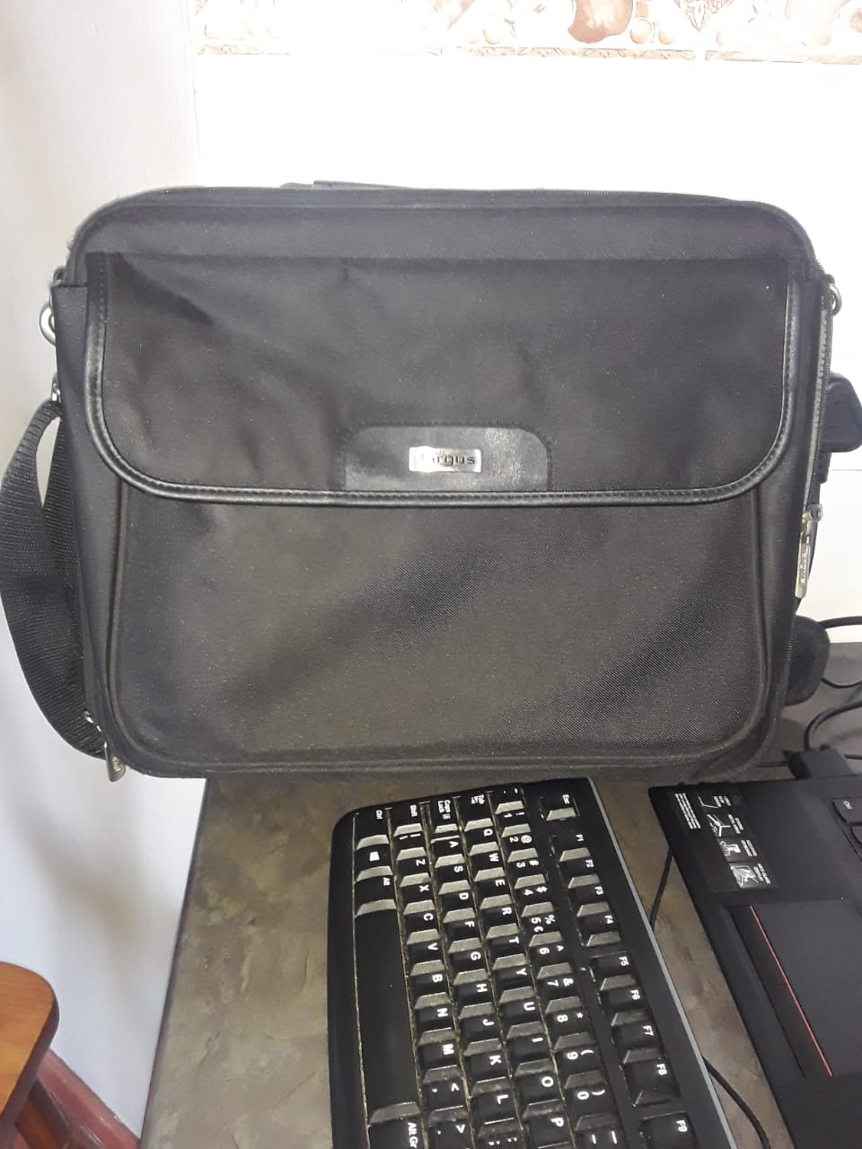 Lenovo laptop with accessories