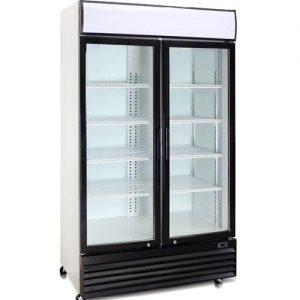 Beverage Cooler Double Door Demo