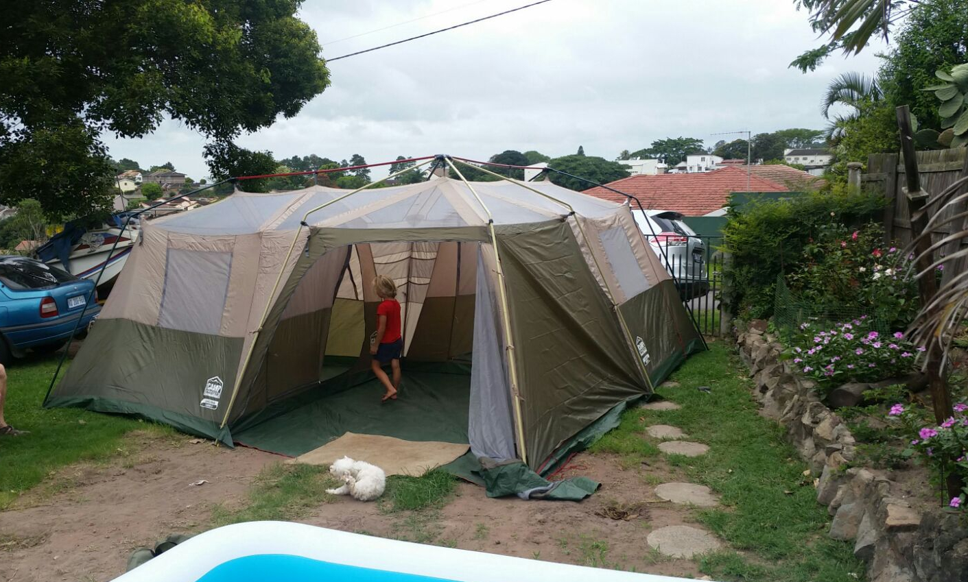 & 8 man Lagoona tent with front panels | Junk Mail