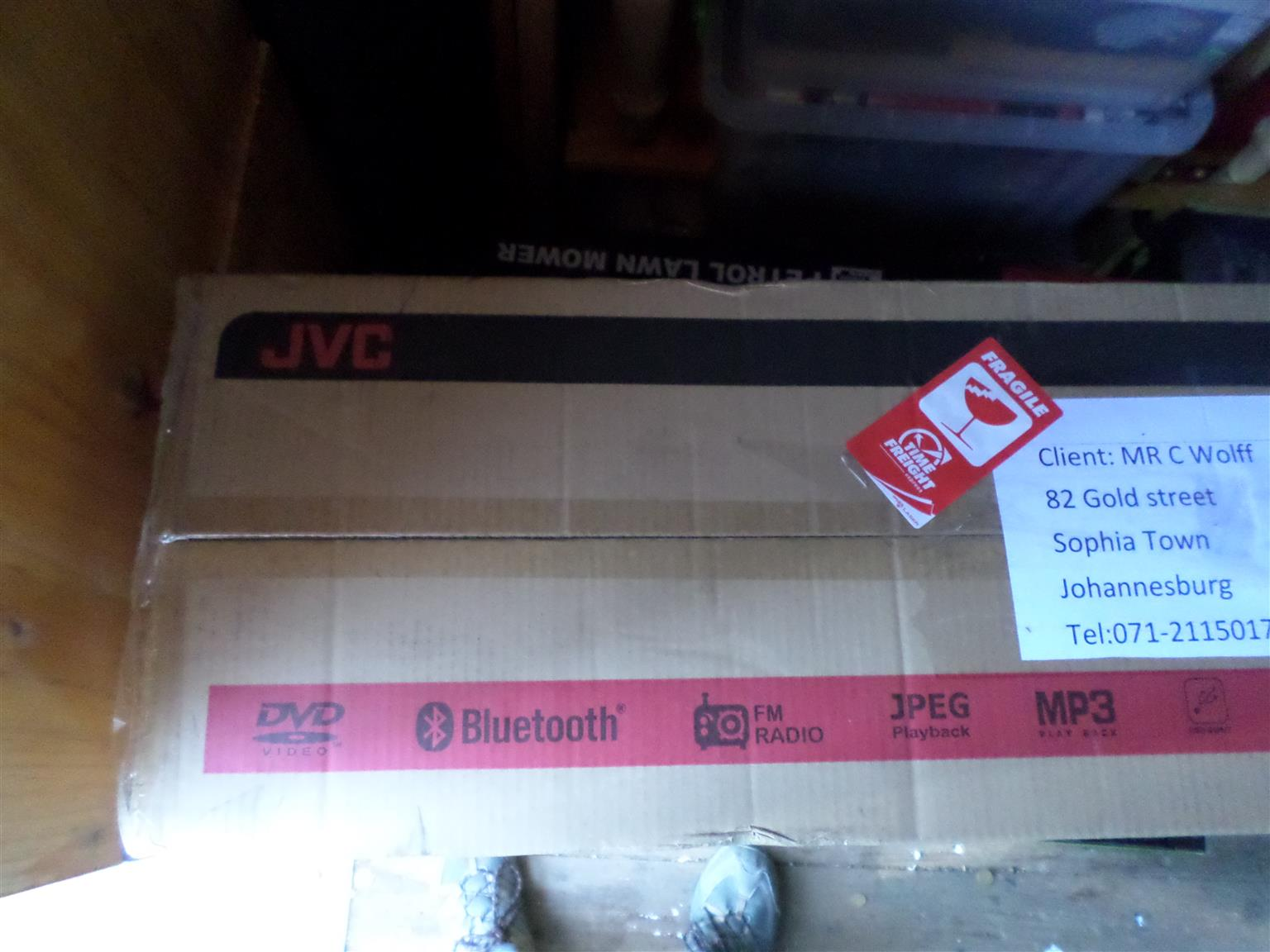 JVC DVD HIFI