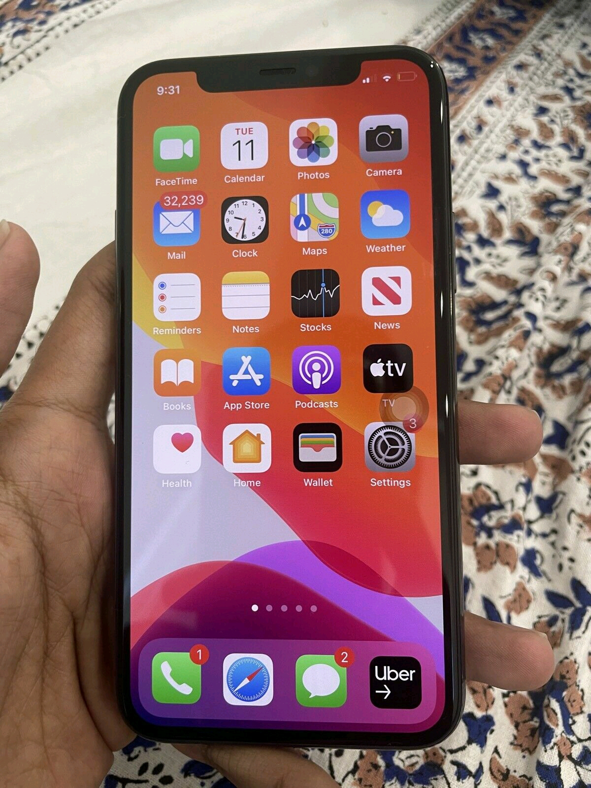 Apple iphone 11 Pro 512gb space grey phone as good as new R15.000