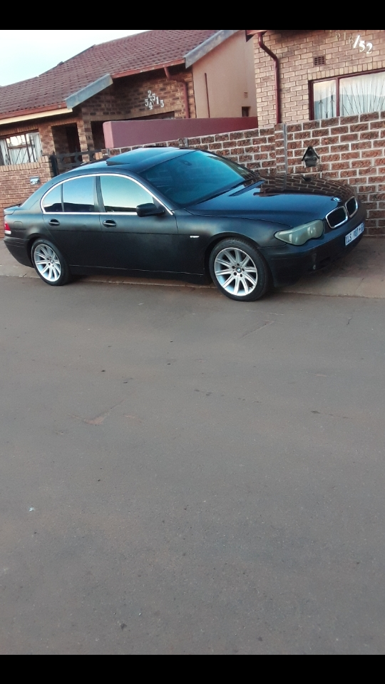 2003 BMW 7 Series L 745Le xDRIVE (G12) (PHEV)