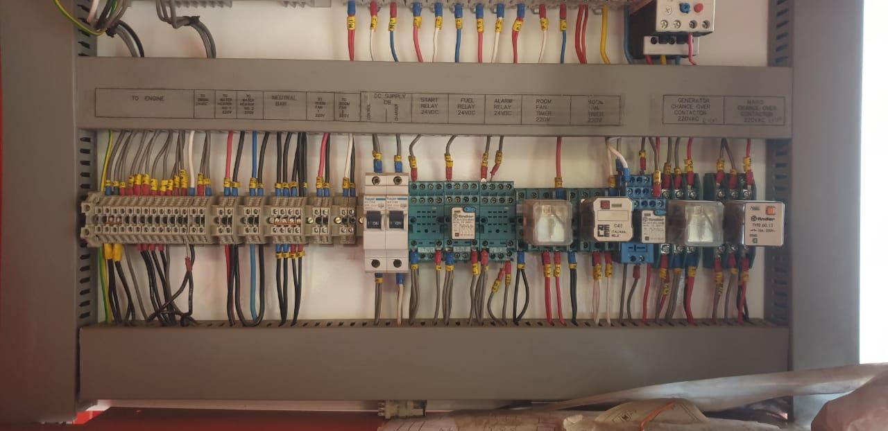 800 Kva Generator Panel
