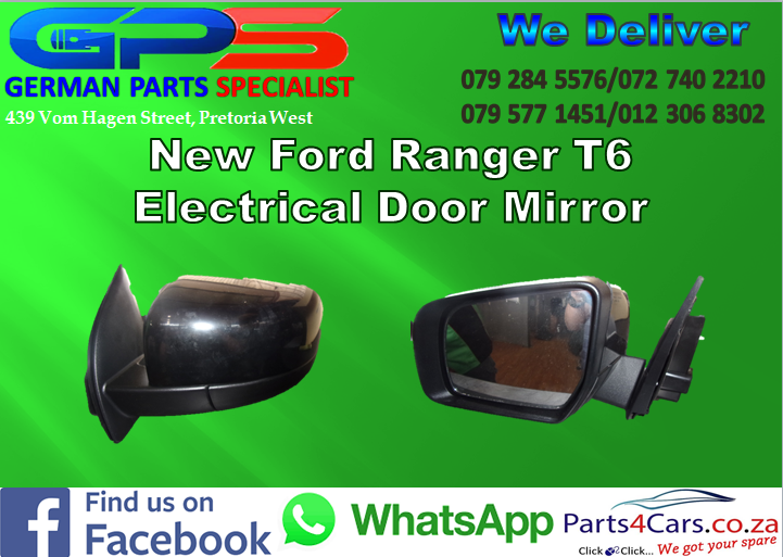 New Ford Ranger T6 Electrical Mirror for Sale