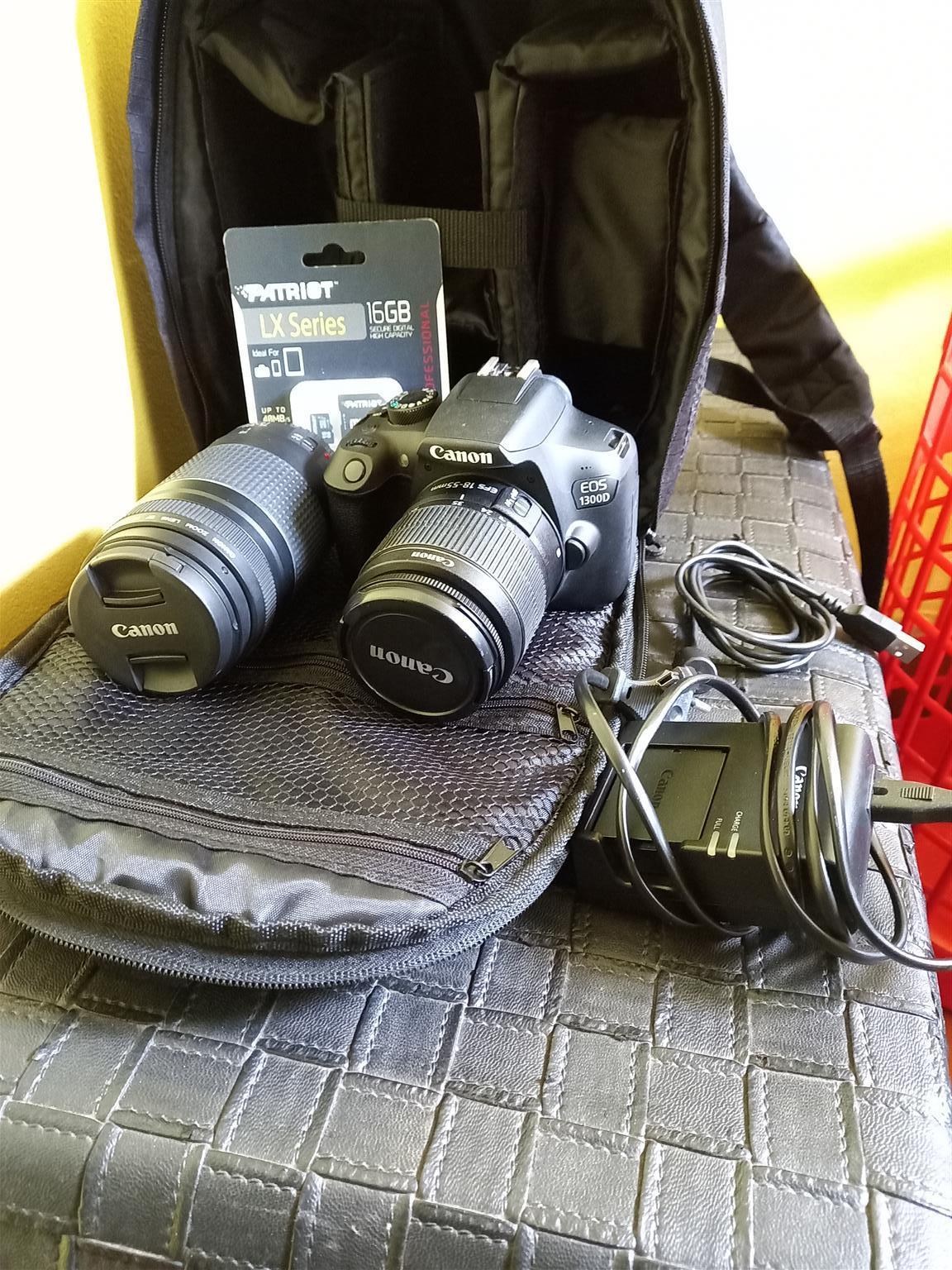 Canon D1300 digital camera