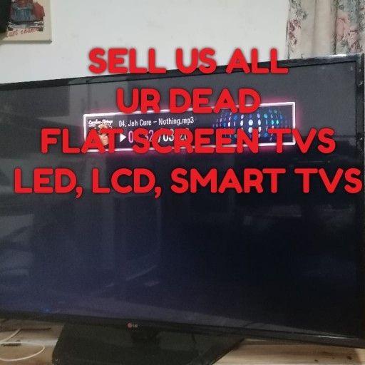 we buy dead tvs