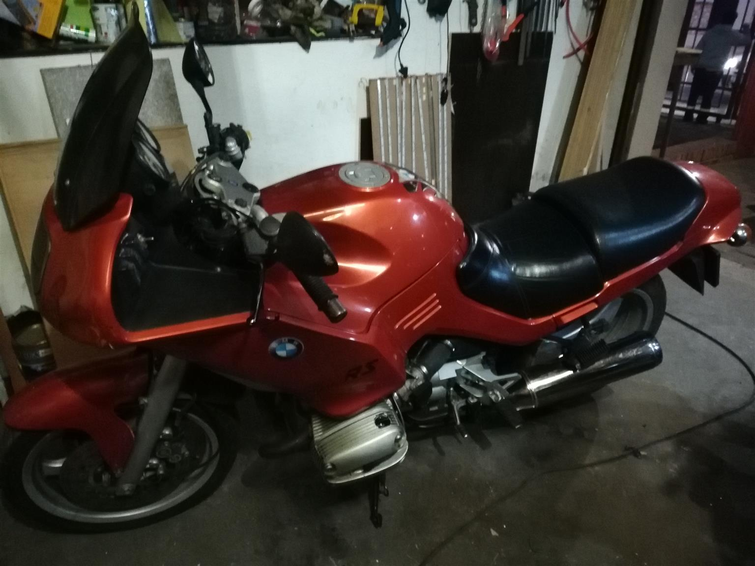 BMWR1100S complete stripped without engine for sale