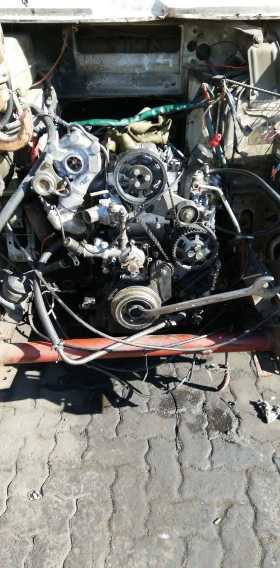 Iveco 2.8 turbo 4ton truck engine and gearbox for sale