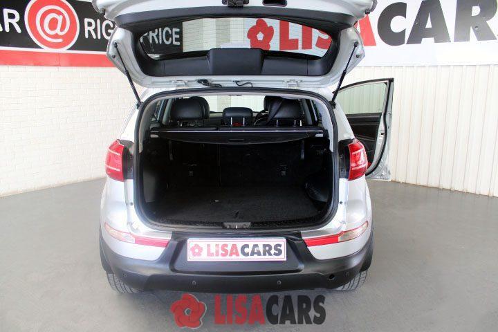 2012 Kia Sportage 2.0 automatic