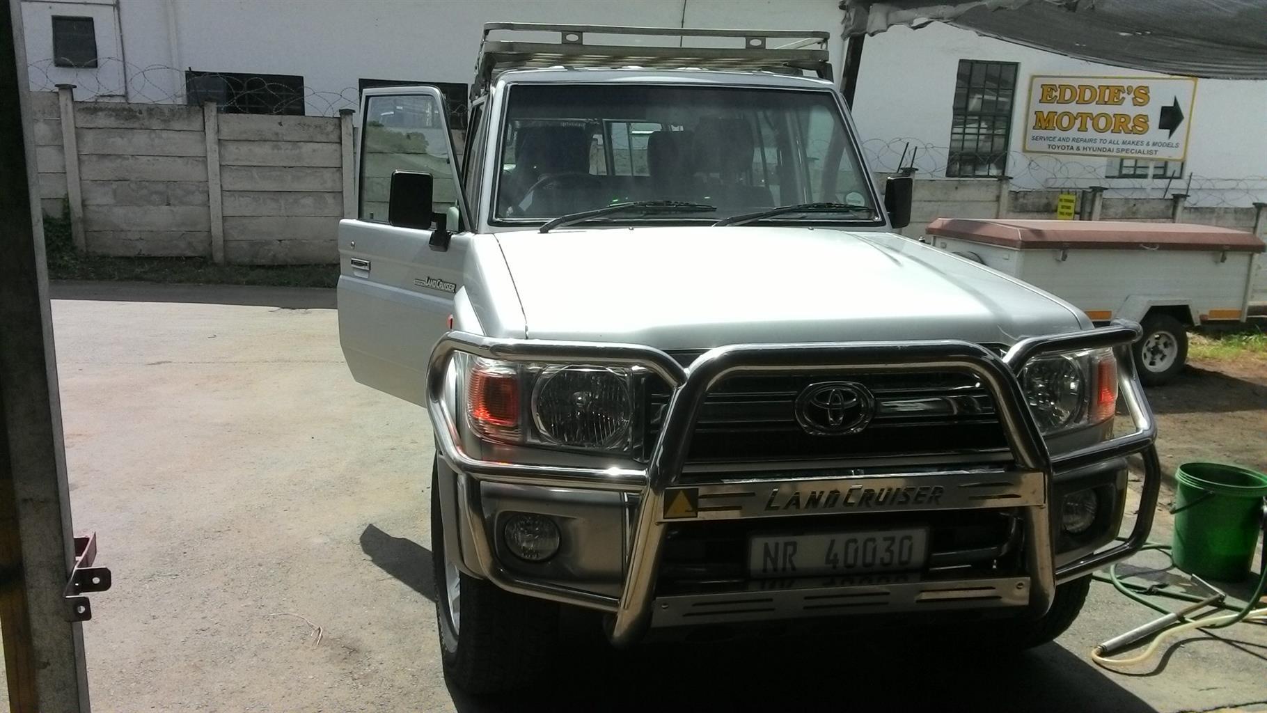 2007 Toyota Land Cruiser 70 series 4.2D
