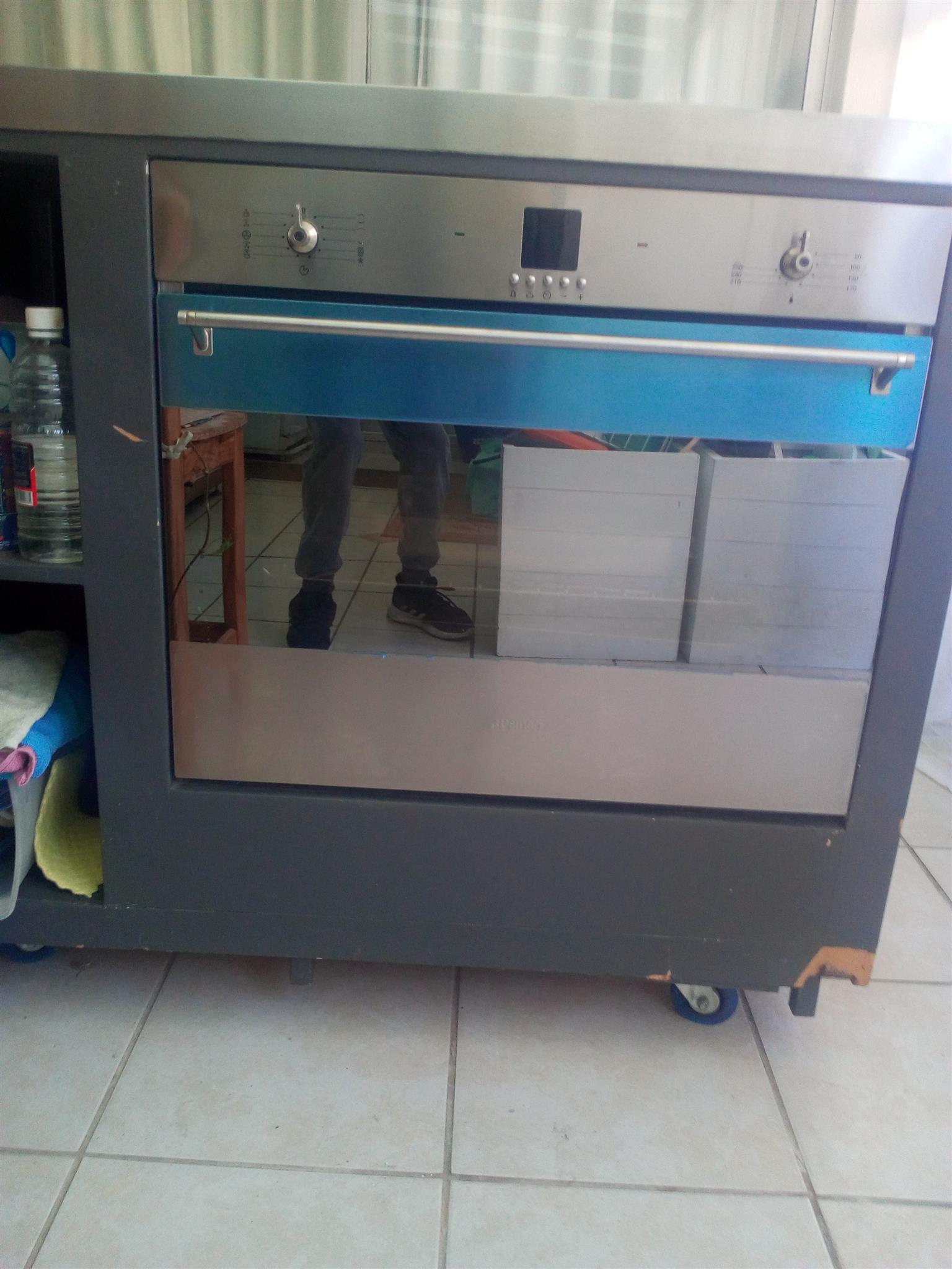 Smeg stainless steel oven
