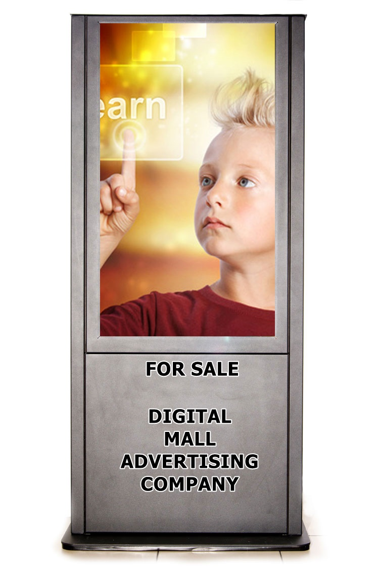 Screen advertising business passive income