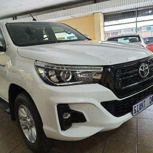 2019 Toyota Hilux double cab HILUX 2.4 GD 6 RB SRX A/T P/U D/C
