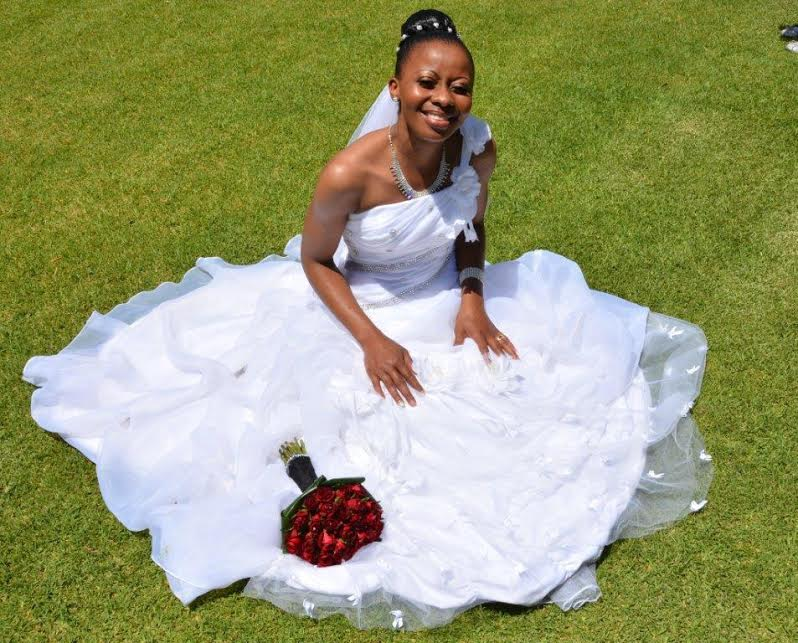 Wedding dress for hire