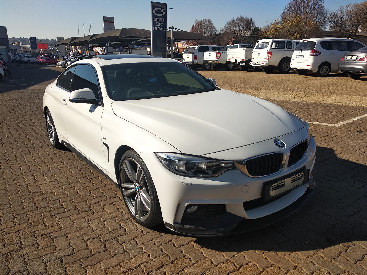 2015 BMW 4 Series coupe 420i COUPE M SPORT A/T (F32)