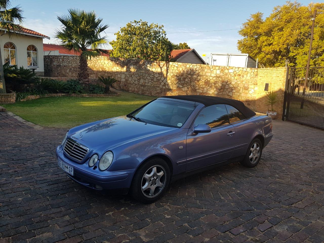 1999 Mercedes Benz CLK 320 Cabriolet Elegance