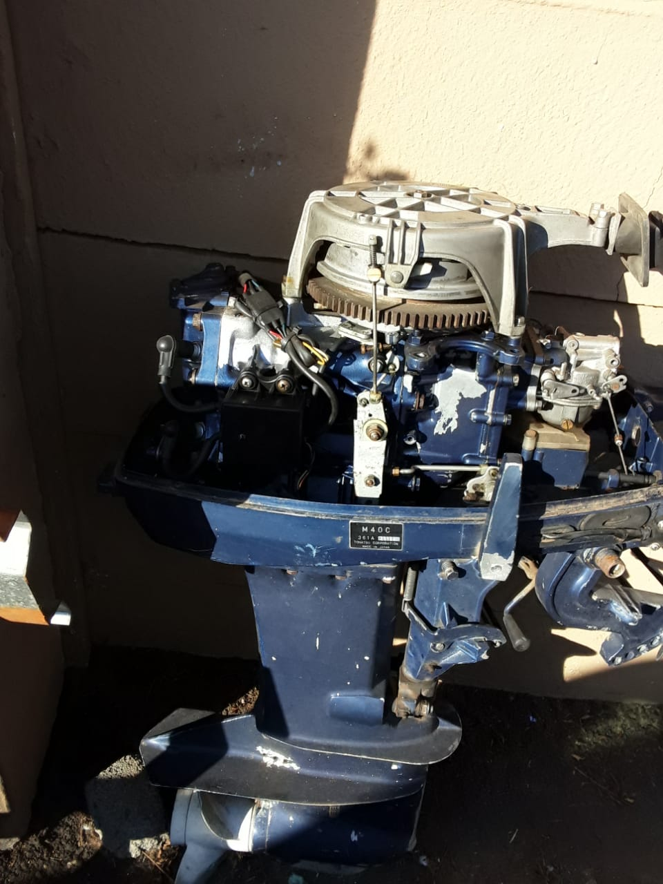 Tohatsu 40 cc boat motor