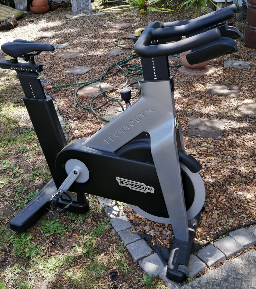 TechnoGym Spinning Bicycle - Get your riding game on! - Top quality gym grade quality!