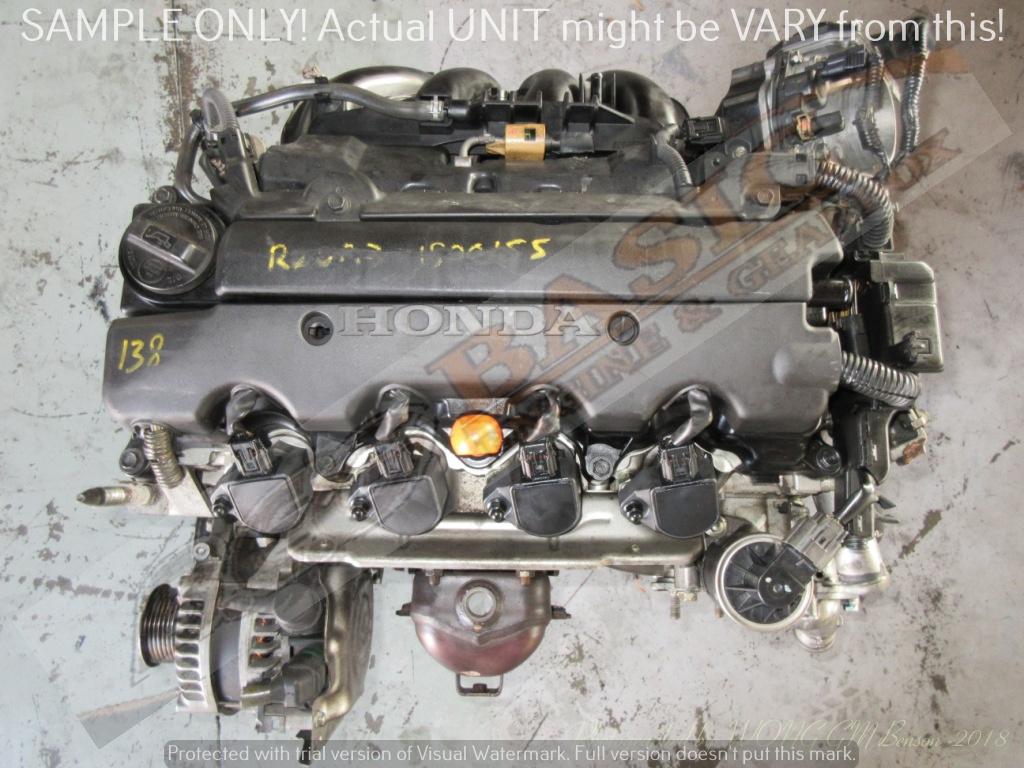 HONDA ACCORD -R20A3 2.0 SOHC 16V i-VTEC Engine