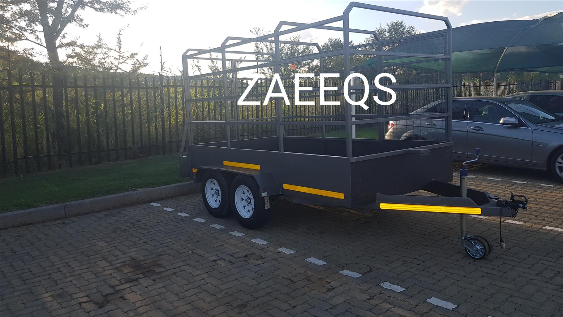 Cattle Trailers...Brand New...Includes Free Sparewheel!