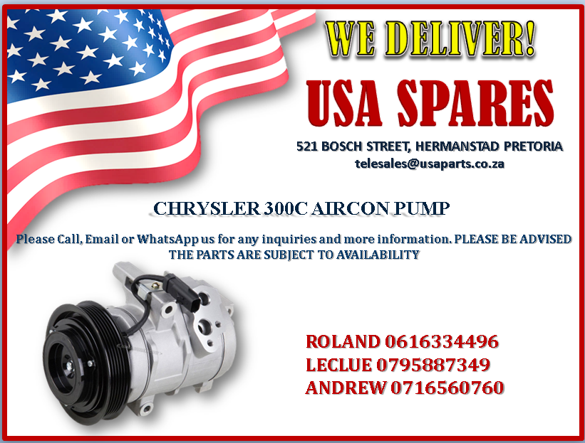 CHRYSLER 300C AIRCON PUMP