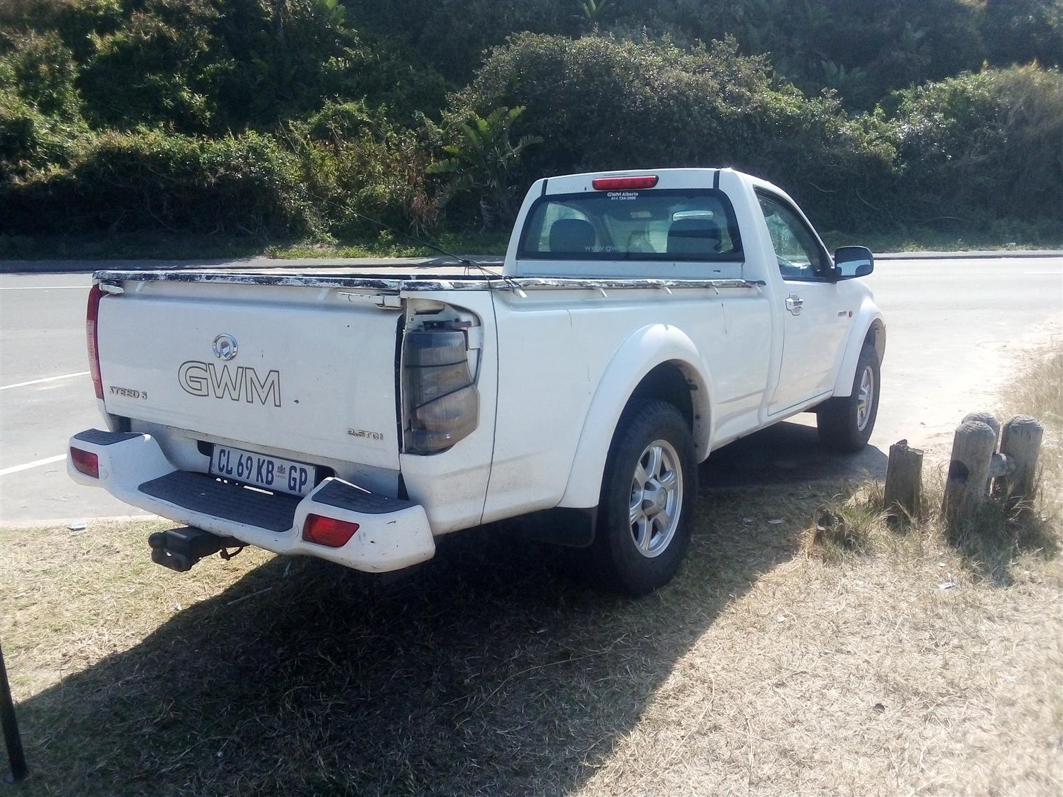 2012 GWM Steed 5 single cab STEED 5 2.2 MPi SAFETY P/U S/C