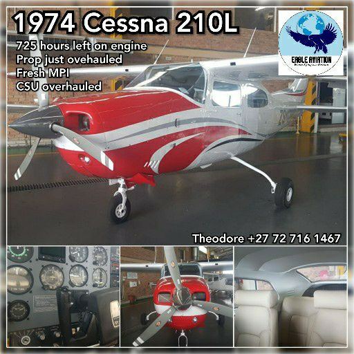 1974 CESSNA 210L FOR SALE