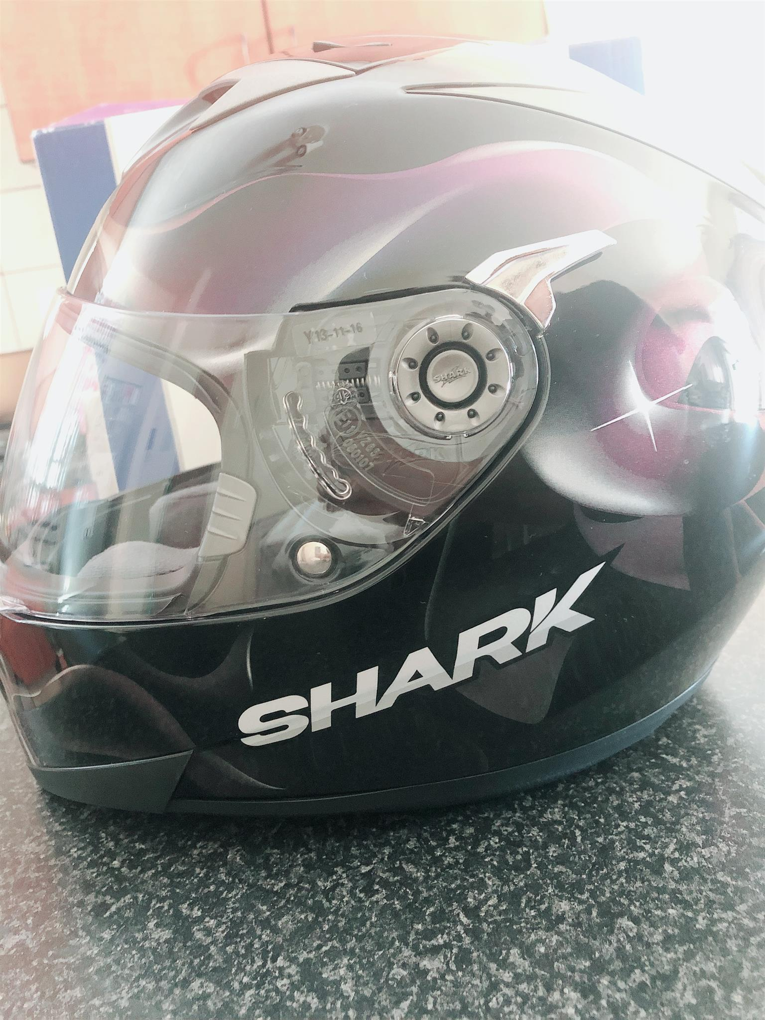 Motorcycle helmet & boots for sale