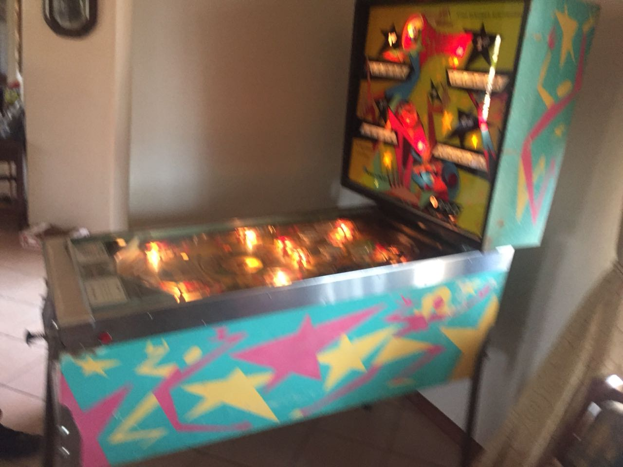 Pinball Machine wanted for cash in the Bloemfontein area