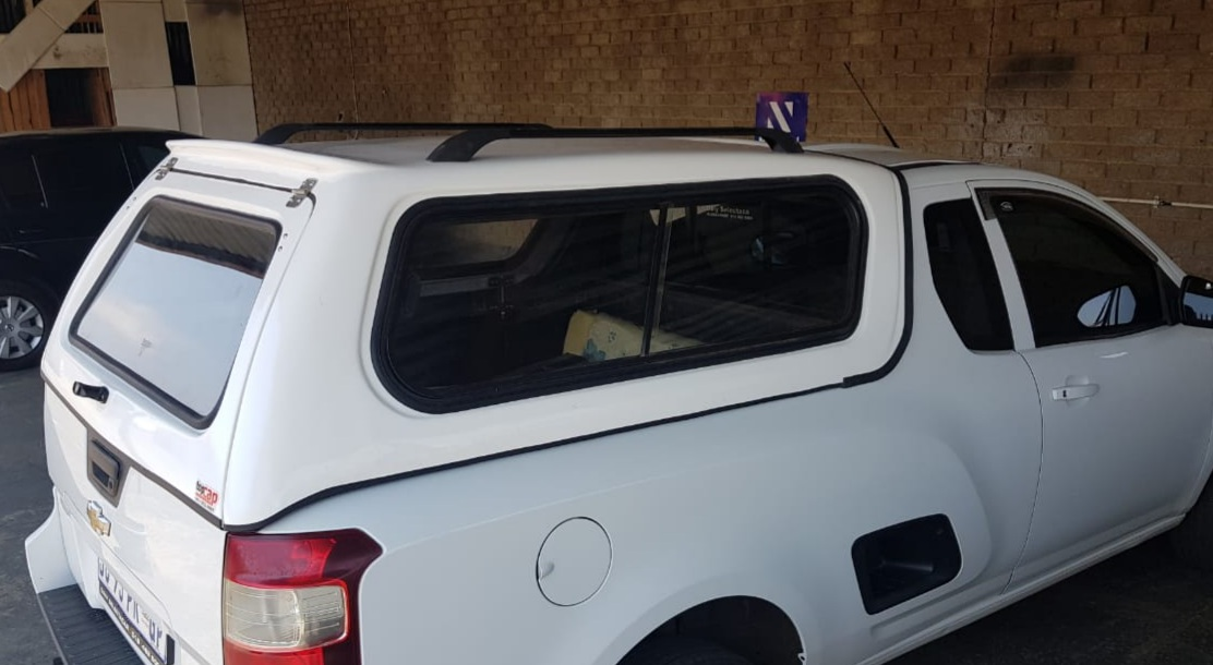 BRAND NEW GC CHEVROLET UTILITY LOW-LINER BAKKIE CANOPY WITHOUT R/RACKS FOR SALE!