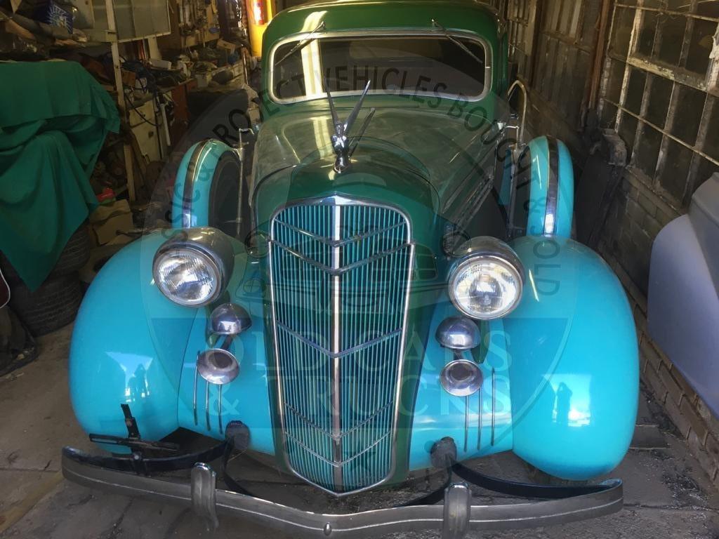 Beautiful 1935 Desoto Coupe