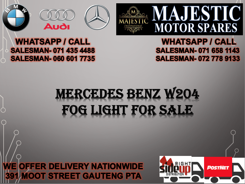 Mercedes benz W204 fog light for sale