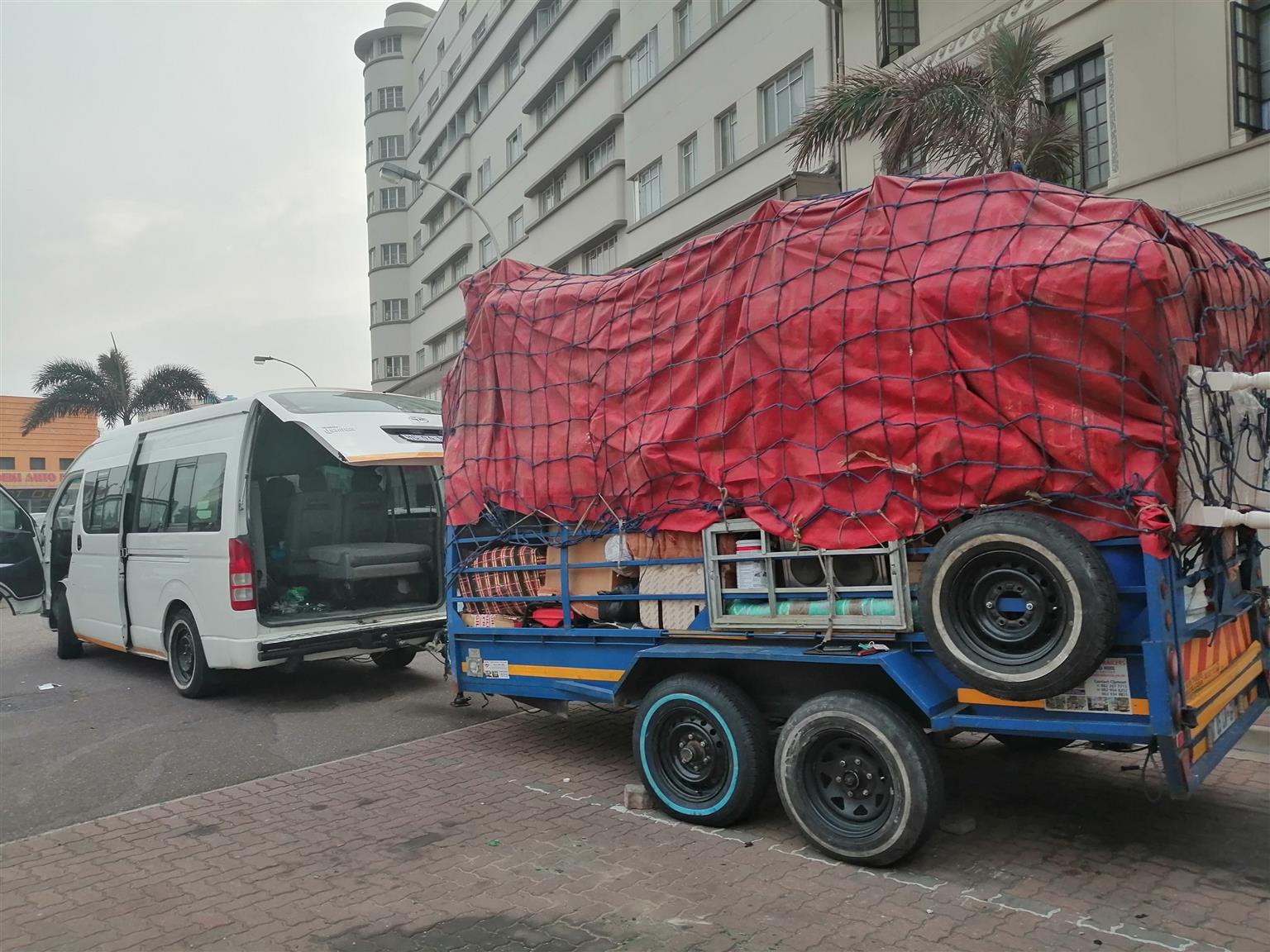 Transport from Durban to Zimbabwe