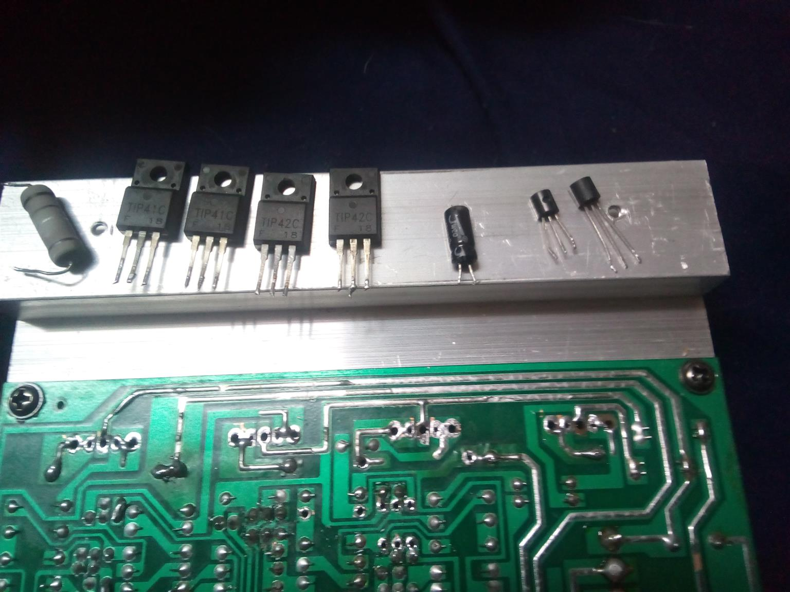 Repairs to all electronic pc board ,TV s .industrial and commercial