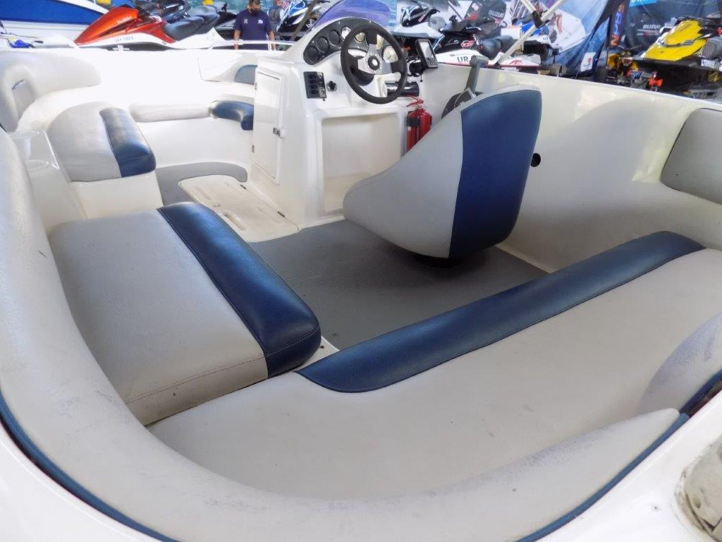 sunseeker 170 on trailer 115 hp mercury 4 stroke