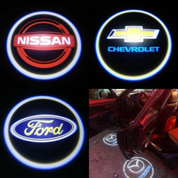 Wireless Led Car Logo Door Lights Courtesy Lights Junk Mail
