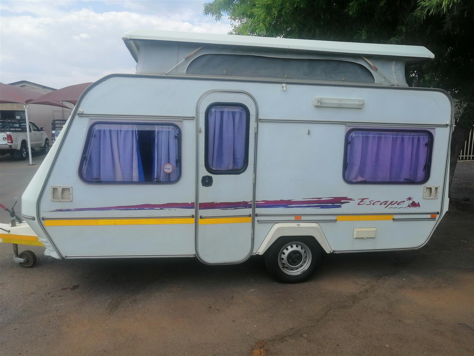 Various caravans for sale
